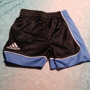Baby boys mesh Adidas Sports basketball shorts